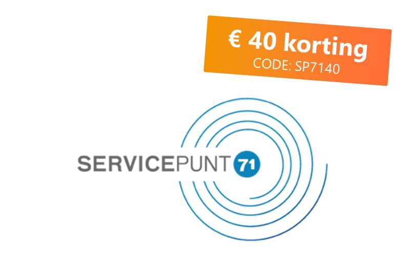 Dynamisch Aankoopsysteem Servicepunt71 wordt verlengd en breidt uit!