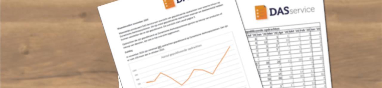 DAS-Service marktmonitor november hoeveel opdrachten verschenen er op de dynamische aankoopsystemen